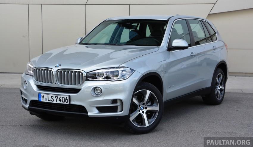 DRIVEN: BMW X5 xDrive40e plug-in hybrid in Munich Image #361502