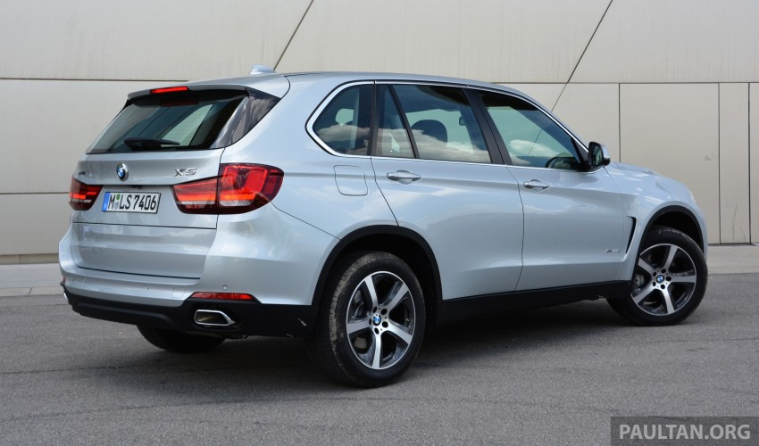 DRIVEN: BMW X5 xDrive40e plug-in hybrid in Munich Image #361503