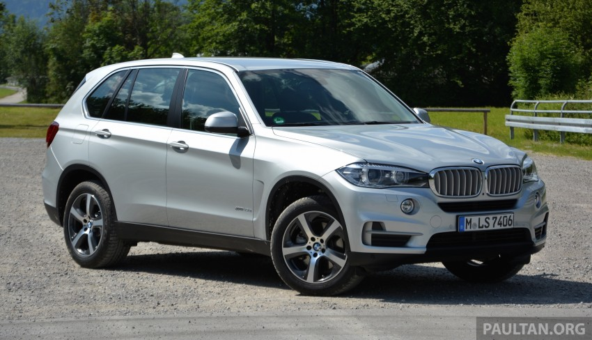 DRIVEN: BMW X5 xDrive40e plug-in hybrid in Munich Image #361527
