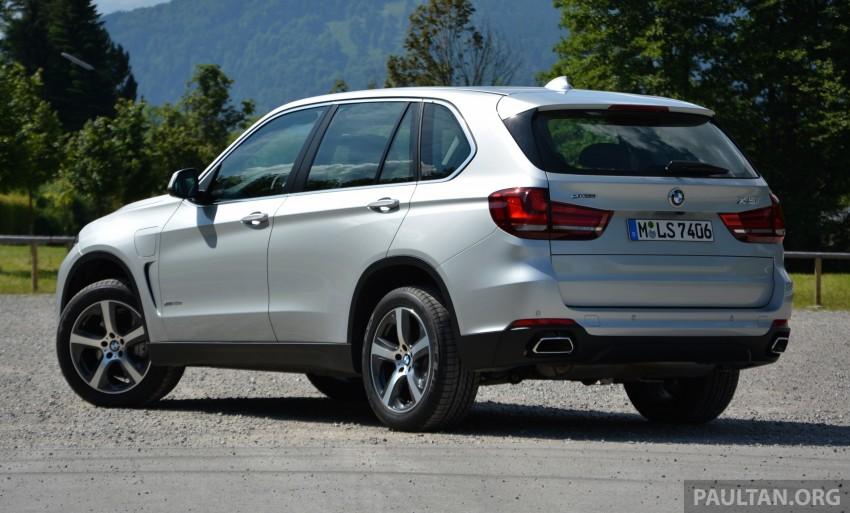 DRIVEN: BMW X5 xDrive40e plug-in hybrid in Munich Image #361528