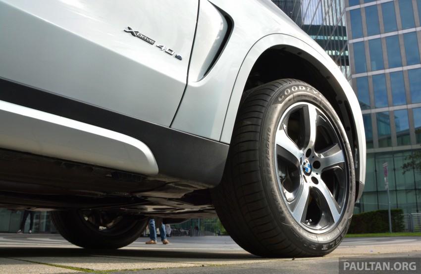 DRIVEN: BMW X5 xDrive40e plug-in hybrid in Munich Image #361532