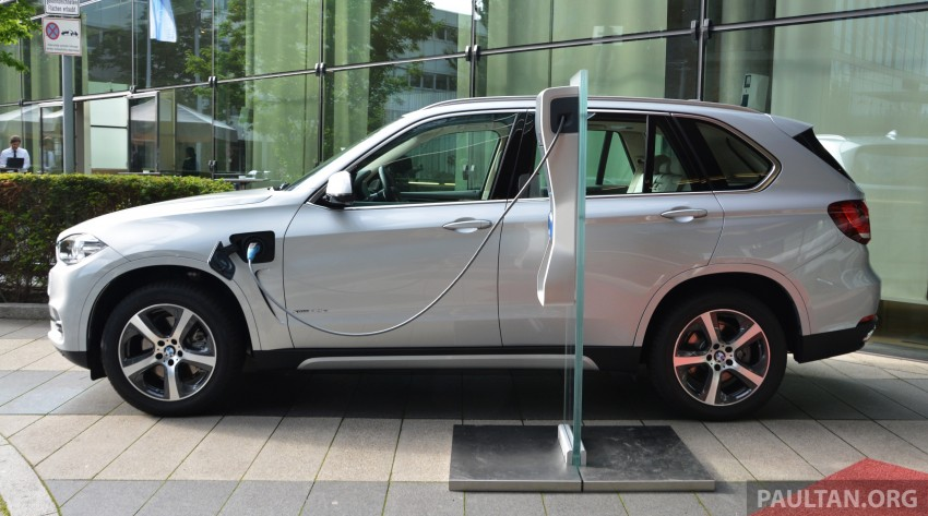 DRIVEN: BMW X5 xDrive40e plug-in hybrid in Munich Image #361535