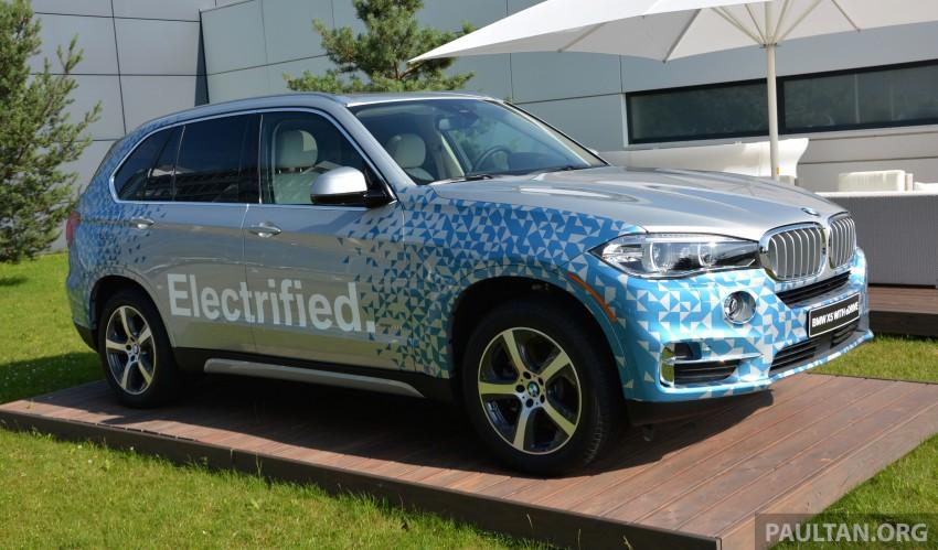 DRIVEN: BMW X5 xDrive40e plug-in hybrid in Munich Image #361536