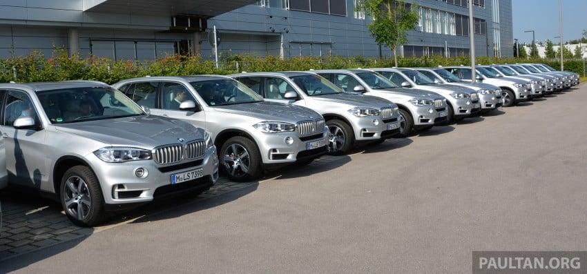 DRIVEN: BMW X5 xDrive40e plug-in hybrid in Munich Image #361537