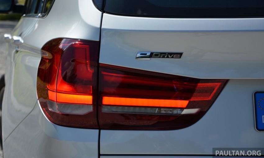 DRIVEN: BMW X5 xDrive40e plug-in hybrid in Munich Image #361538