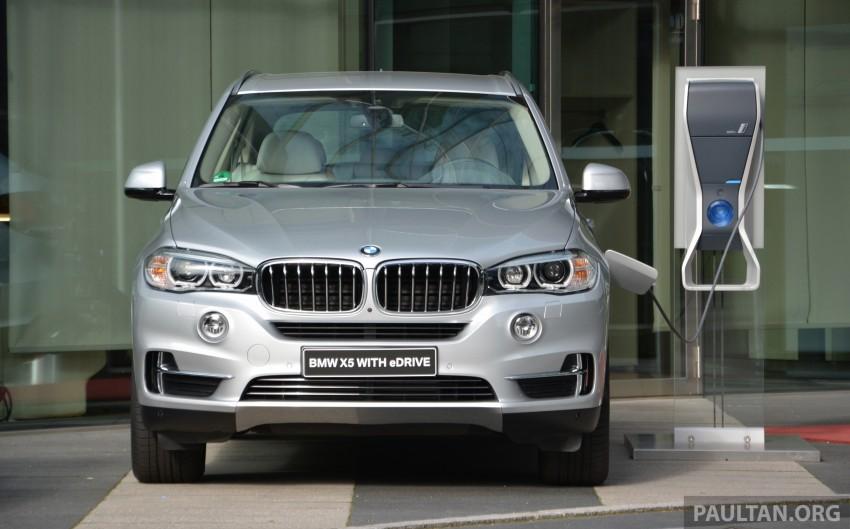 DRIVEN: BMW X5 xDrive40e plug-in hybrid in Munich Image #361505