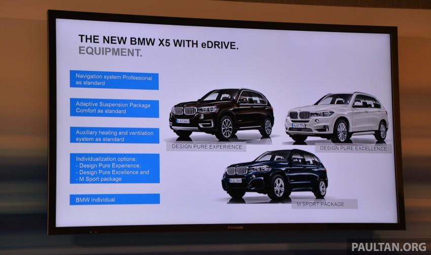 DRIVEN: BMW X5 xDrive40e plug-in hybrid in Munich Image #361497