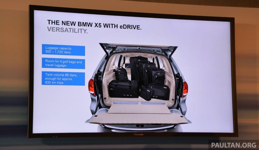 DRIVEN: BMW X5 xDrive40e plug-in hybrid in Munich Image #361498