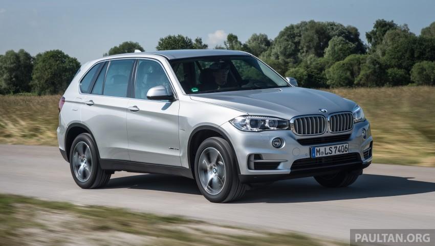 DRIVEN: BMW X5 xDrive40e plug-in hybrid in Munich Image #361499