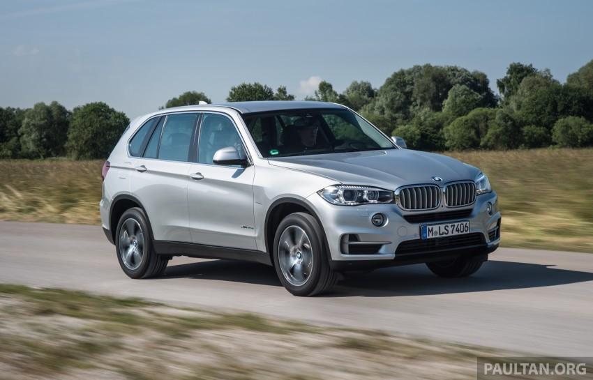 DRIVEN: BMW X5 xDrive40e plug-in hybrid in Munich Image #361501