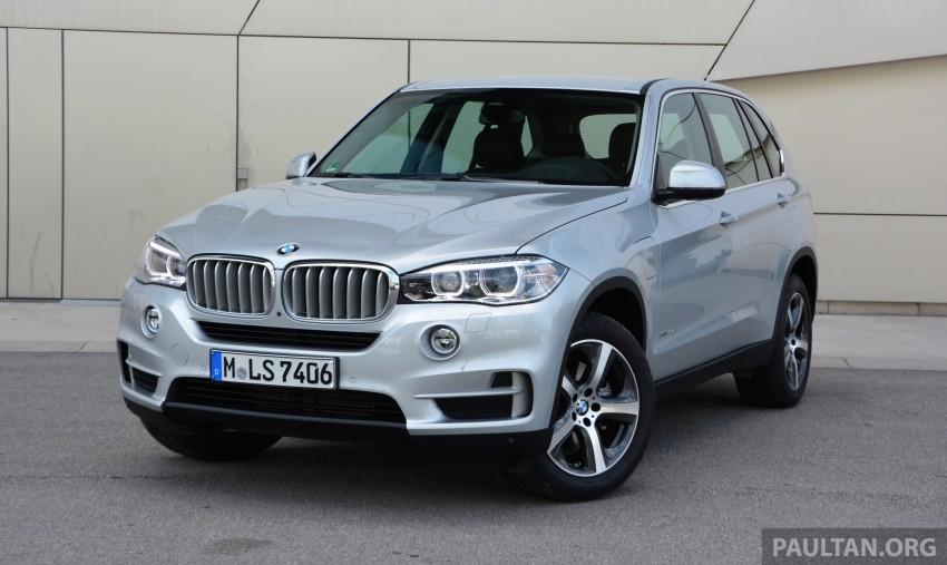 DRIVEN: BMW X5 xDrive40e plug-in hybrid in Munich Image #361508