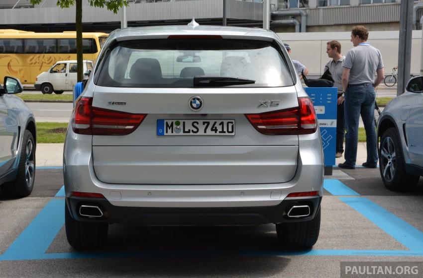 DRIVEN: BMW X5 xDrive40e plug-in hybrid in Munich Image #361509