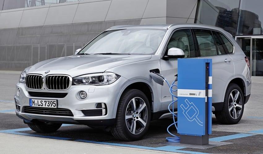 DRIVEN: BMW X5 xDrive40e plug-in hybrid in Munich Image #361495