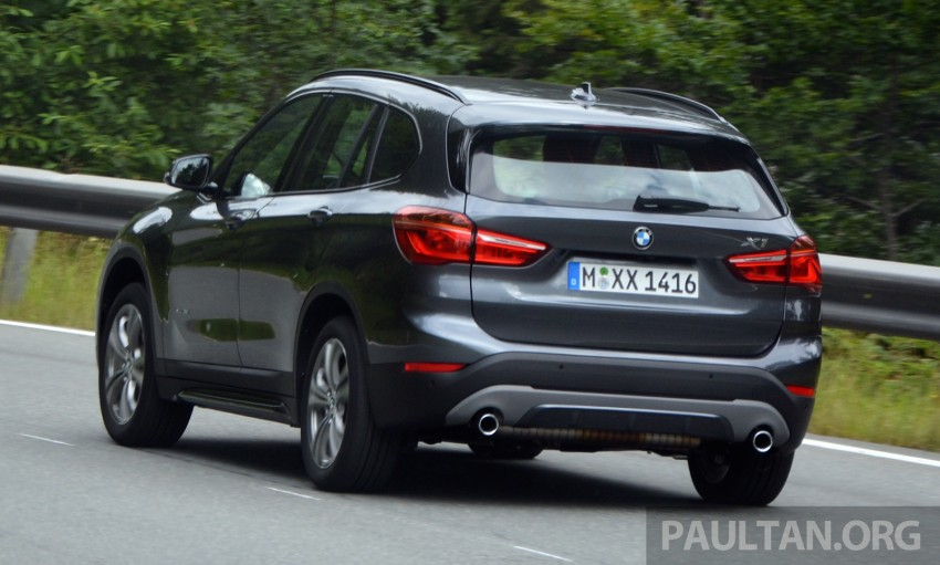 DRIVEN: 2016 F48 BMW X1 – the one to rule them all? Image #359347