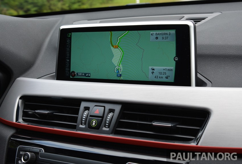 DRIVEN: 2016 F48 BMW X1 – the one to rule them all? Image #359351