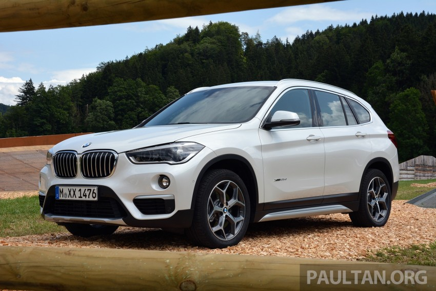 DRIVEN: 2016 F48 BMW X1 – the one to rule them all? Image #359384
