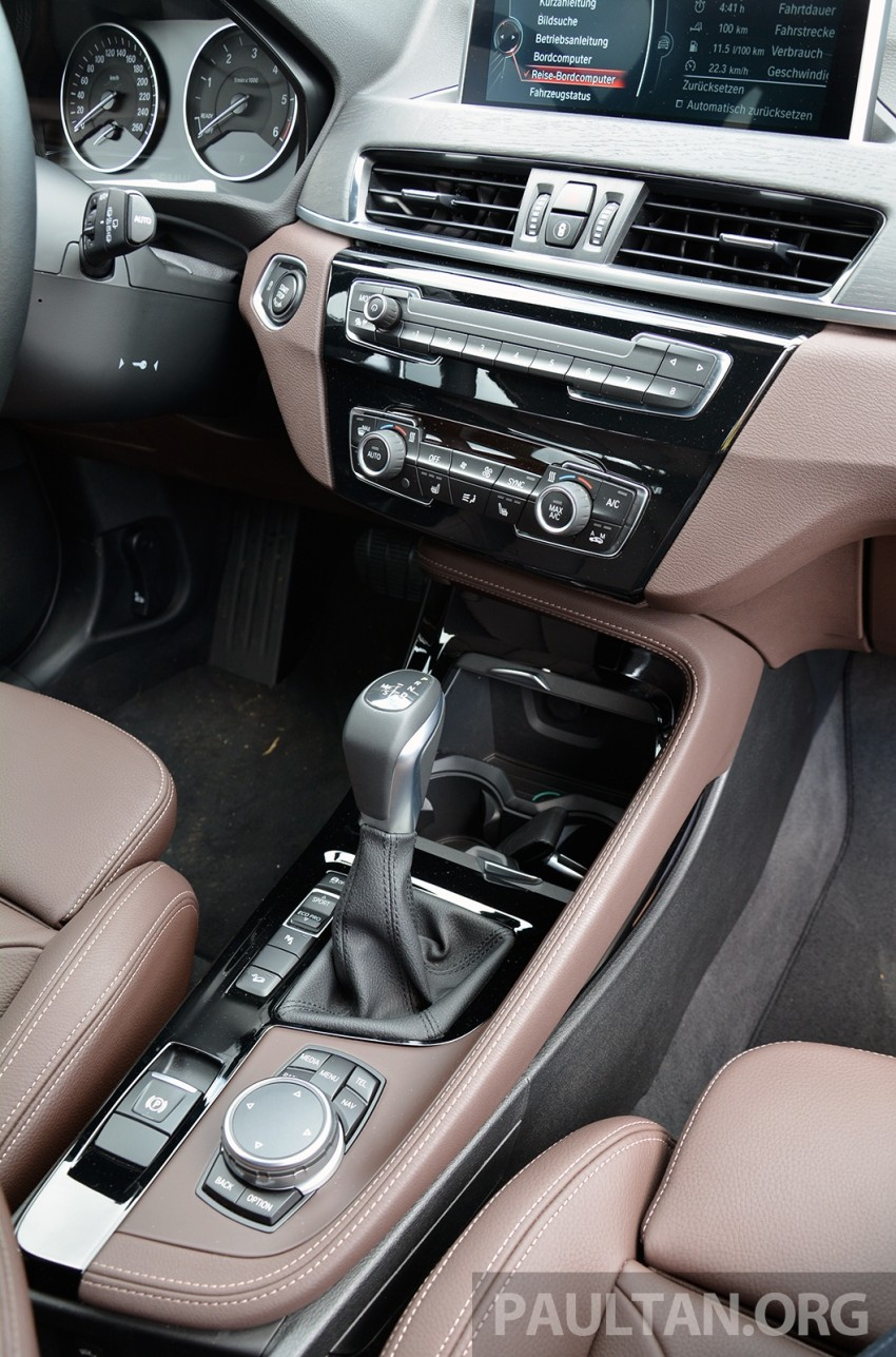 DRIVEN: 2016 F48 BMW X1 – the one to rule them all? Image #359391