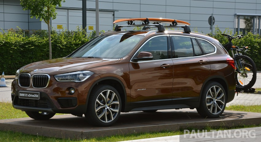 DRIVEN: 2016 F48 BMW X1 – the one to rule them all? Image #359393