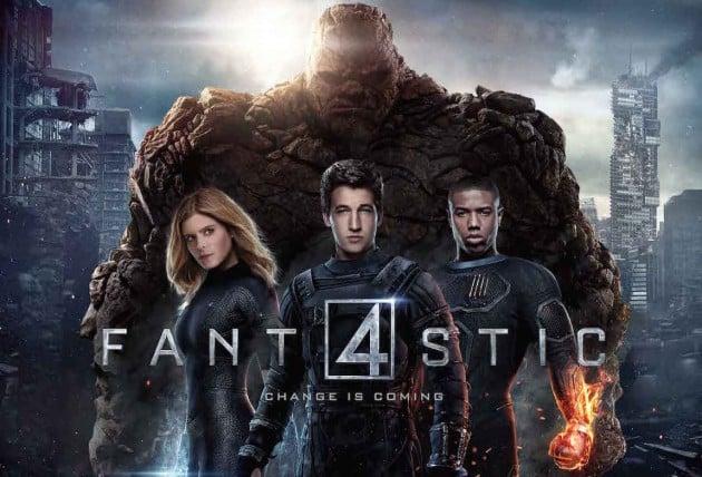 Fantastic Four Driven Movie Night