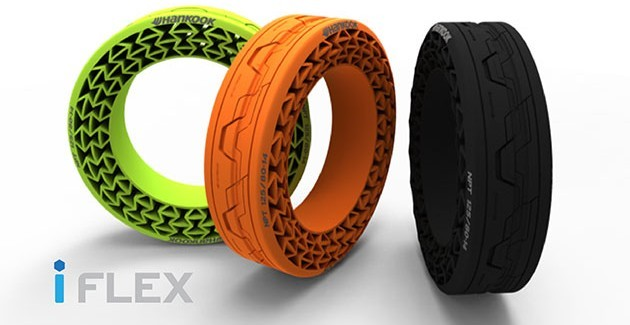 Hankook iFlex airless tyres - now be used up to 130 km/h