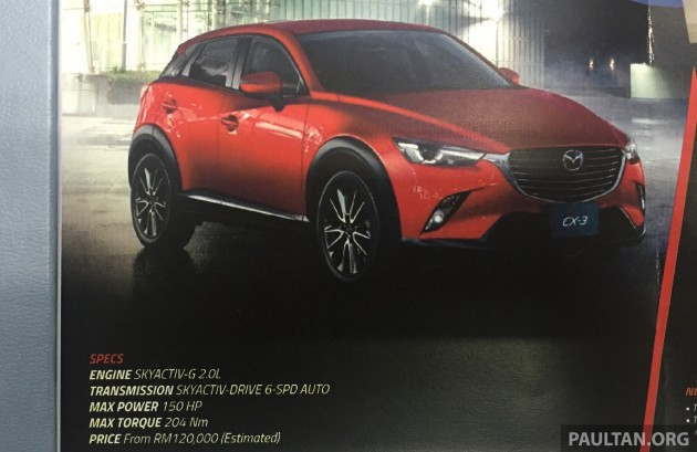 Mazda CX-3 MY newsletter 1
