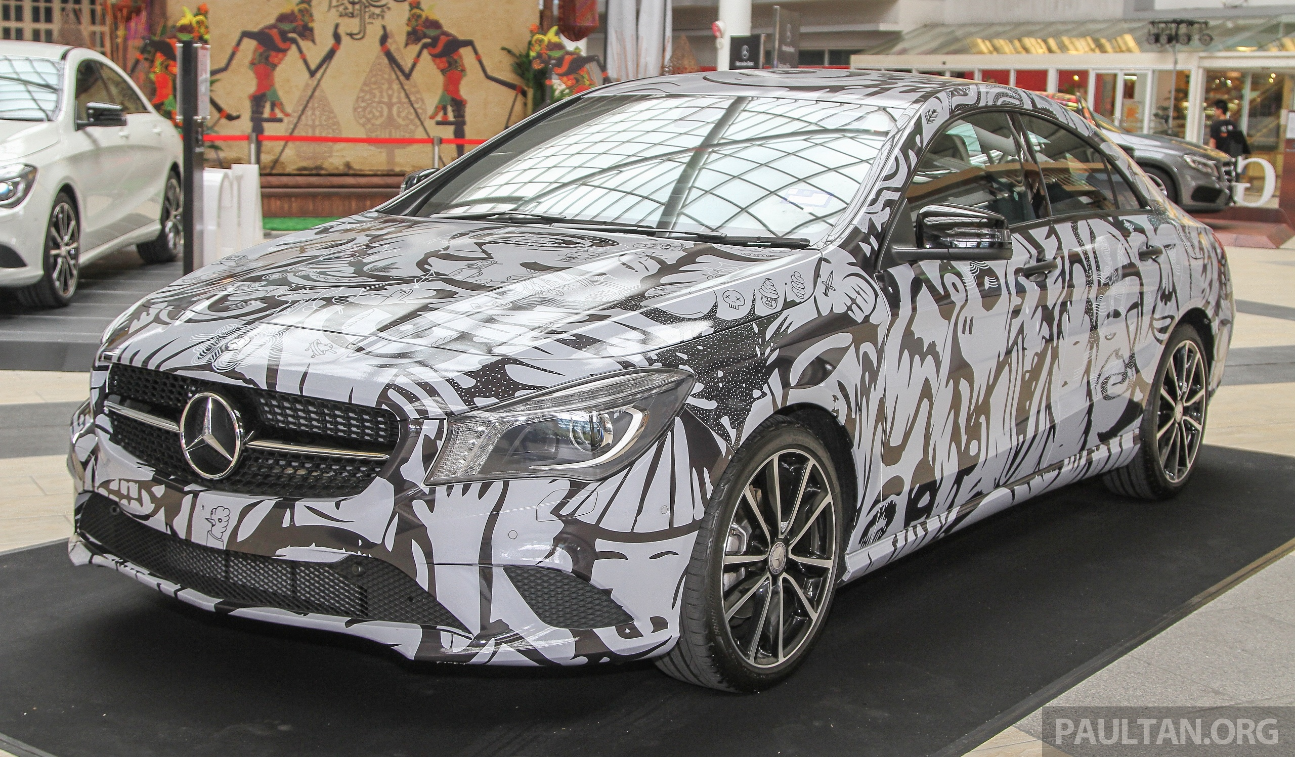 Mercedes benz urban hunting a cla gla art cars image for Mercedes benz cars com