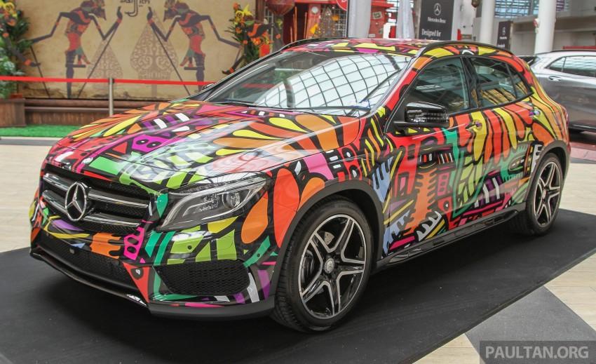 Mercedes-Benz Urban Hunting – A, CLA, GLA art cars Image #357390
