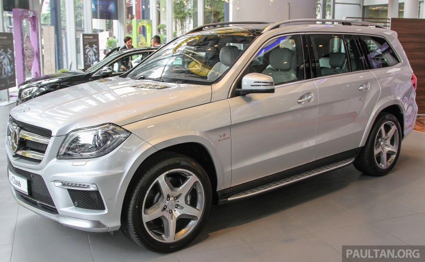 Mercedes Benz Gl 63 Amg In Malaysia Rm1 014 Mil Image