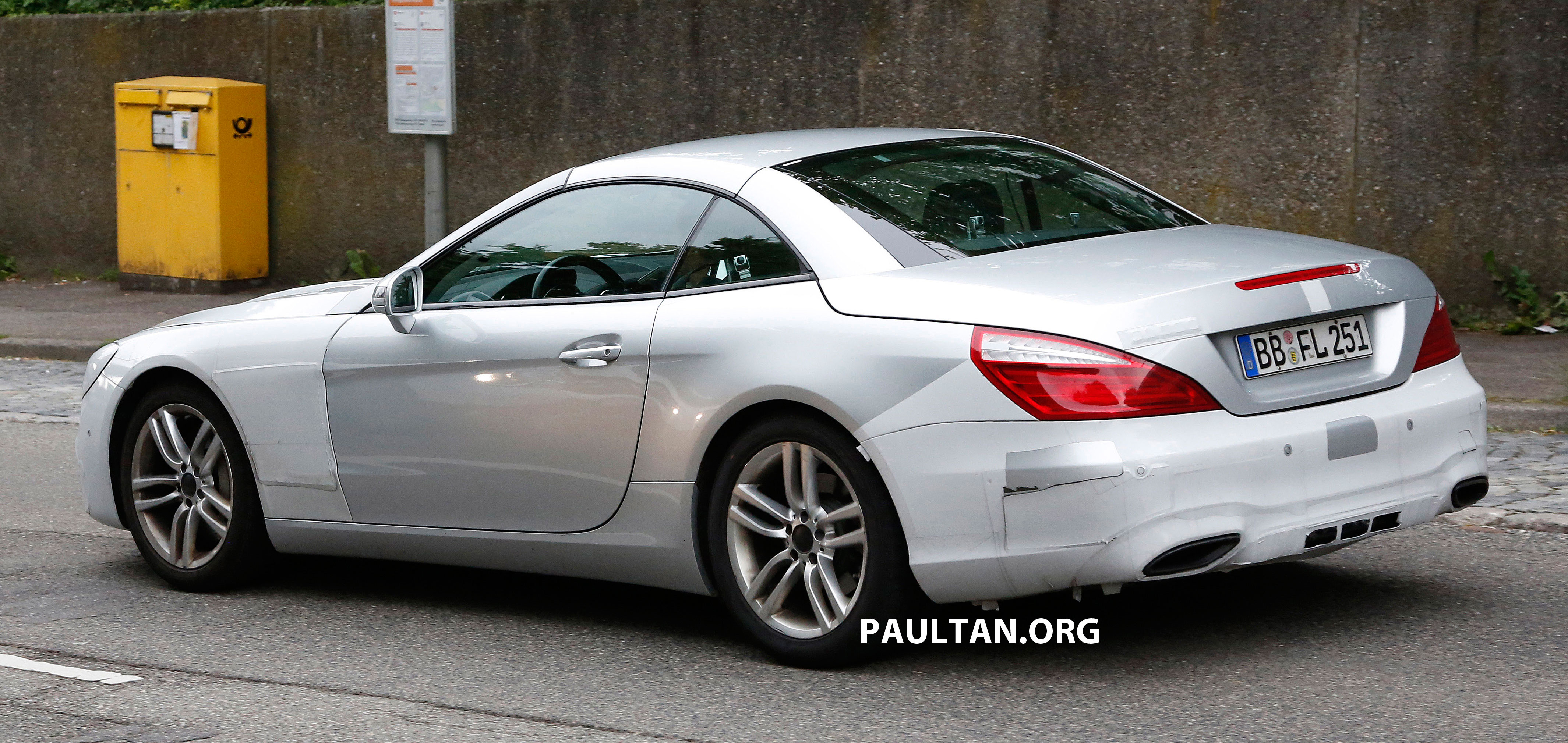 SPYSHOTS: Mercedes-Benz SL update to get new face Paul Tan ...