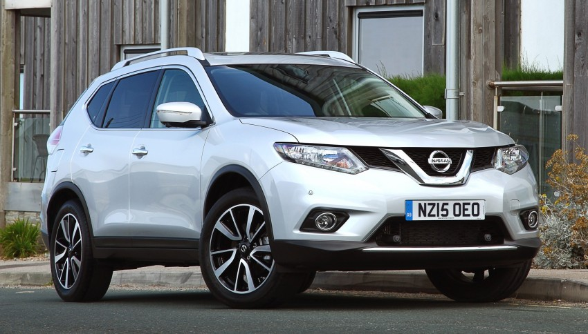 Nissan X-Trail gets new 1.6 turbo engine in the UK Image #359509