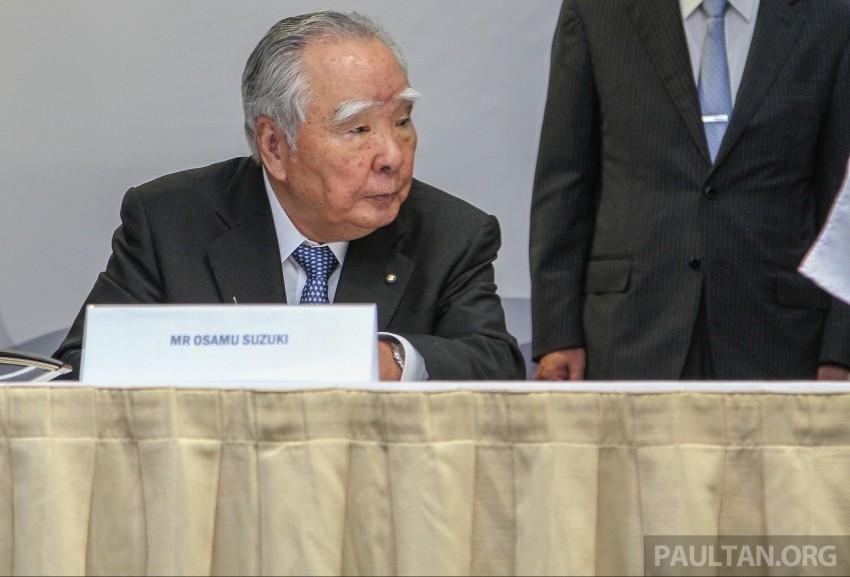 Suzuki names new president, announces five-year plan Image #355721