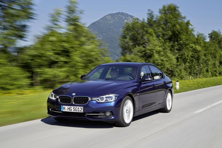 GALLERY: BMW F30 LCI 340i in Mediterranean Blue Image #360049