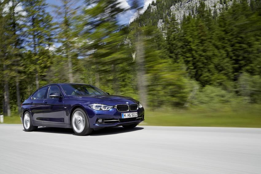 GALLERY: BMW F30 LCI 340i in Mediterranean Blue Image #360037