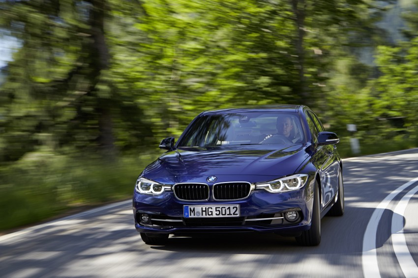 GALLERY: BMW F30 LCI 340i in Mediterranean Blue Image #360059