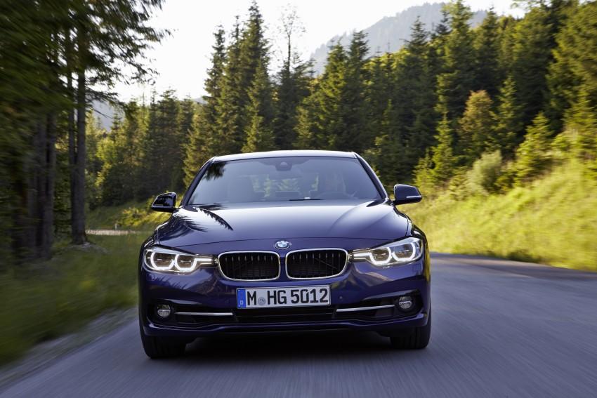 GALLERY: BMW F30 LCI 340i in Mediterranean Blue Image #360051