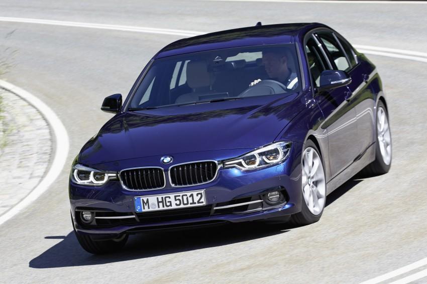 GALLERY: BMW F30 LCI 340i in Mediterranean Blue Image #360038