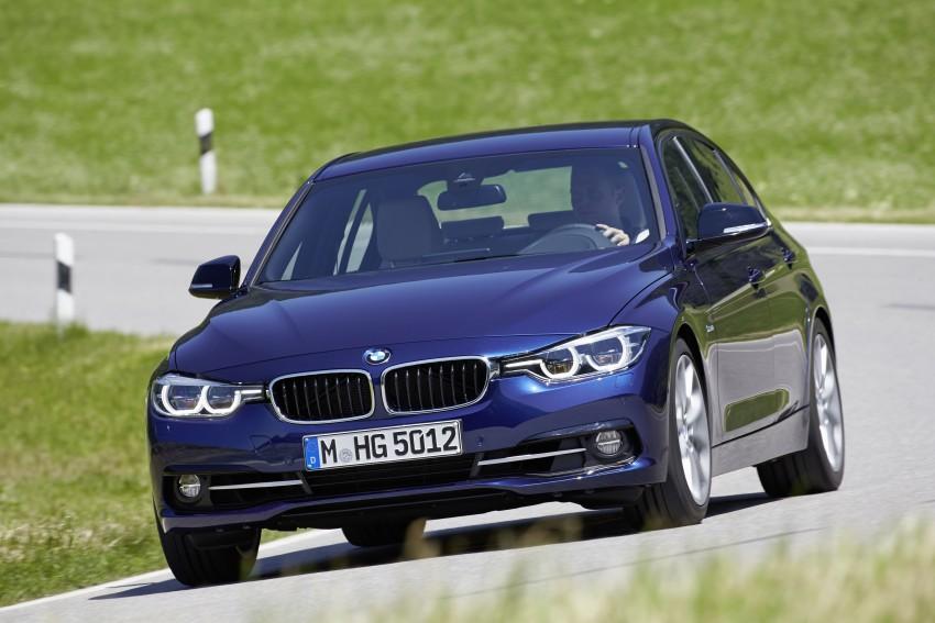 GALLERY: BMW F30 LCI 340i in Mediterranean Blue Image #360067