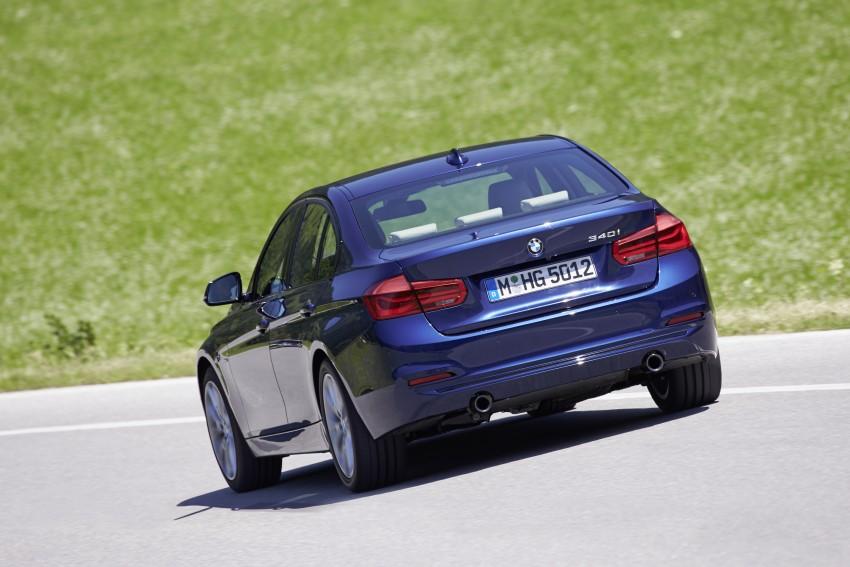 GALLERY: BMW F30 LCI 340i in Mediterranean Blue Image #360070