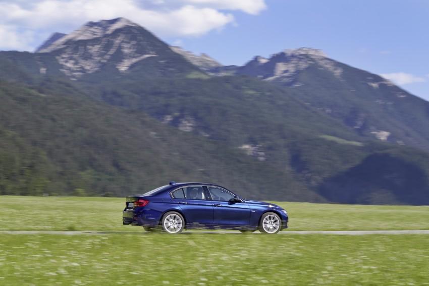 GALLERY: BMW F30 LCI 340i in Mediterranean Blue Image #360071