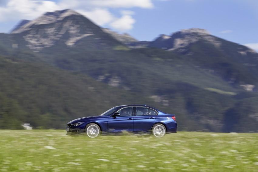 GALLERY: BMW F30 LCI 340i in Mediterranean Blue Image #360075