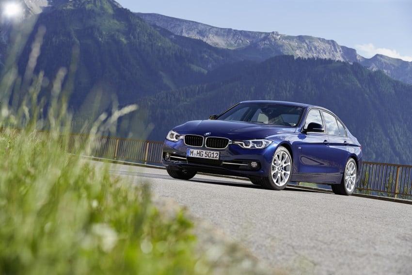 GALLERY: BMW F30 LCI 340i in Mediterranean Blue Image #360132