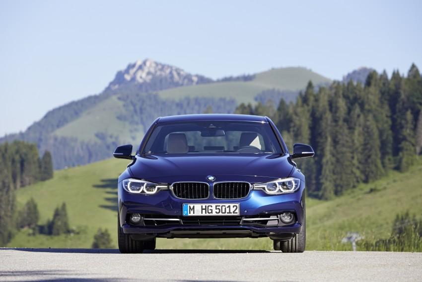 GALLERY: BMW F30 LCI 340i in Mediterranean Blue Image #360128