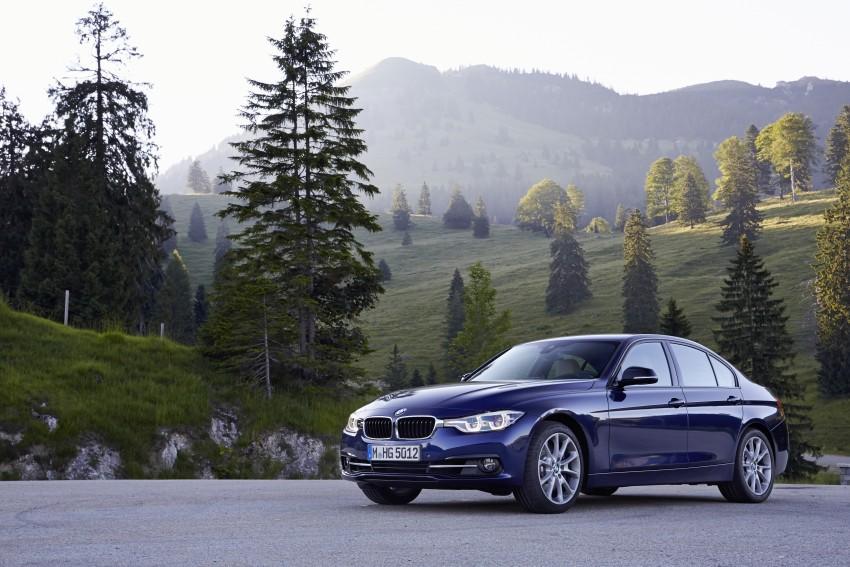 GALLERY: BMW F30 LCI 340i in Mediterranean Blue Image #360109
