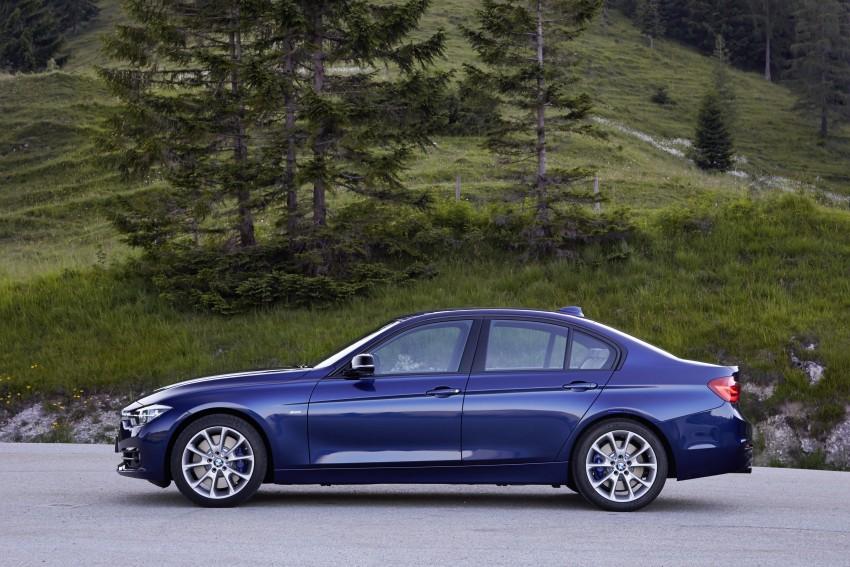 GALLERY: BMW F30 LCI 340i in Mediterranean Blue Image #360106