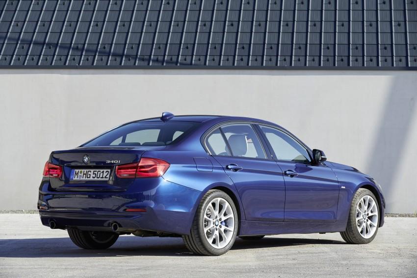 GALLERY: BMW F30 LCI 340i in Mediterranean Blue Image #360118