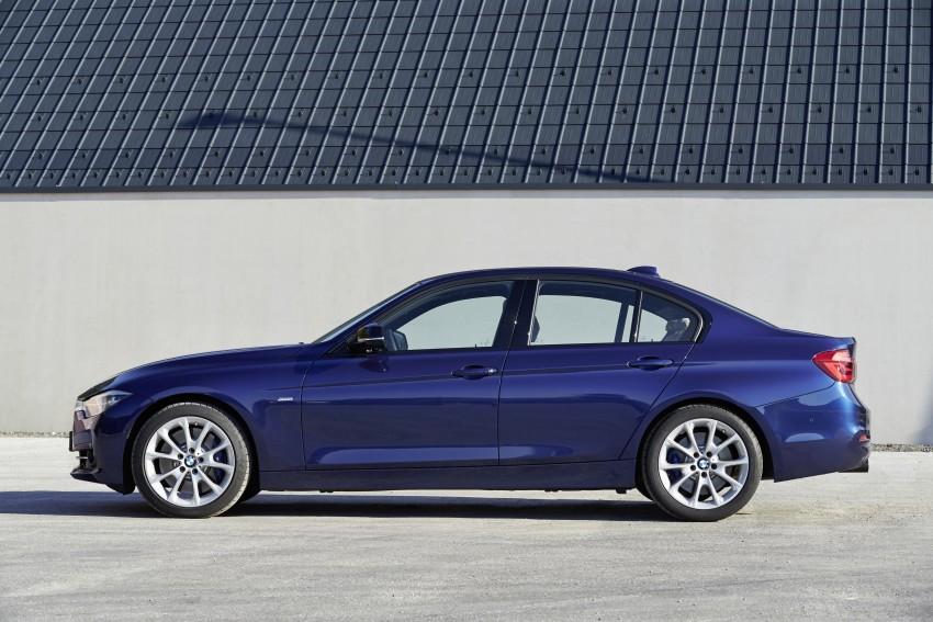 GALLERY: BMW F30 LCI 340i in Mediterranean Blue Image #360113