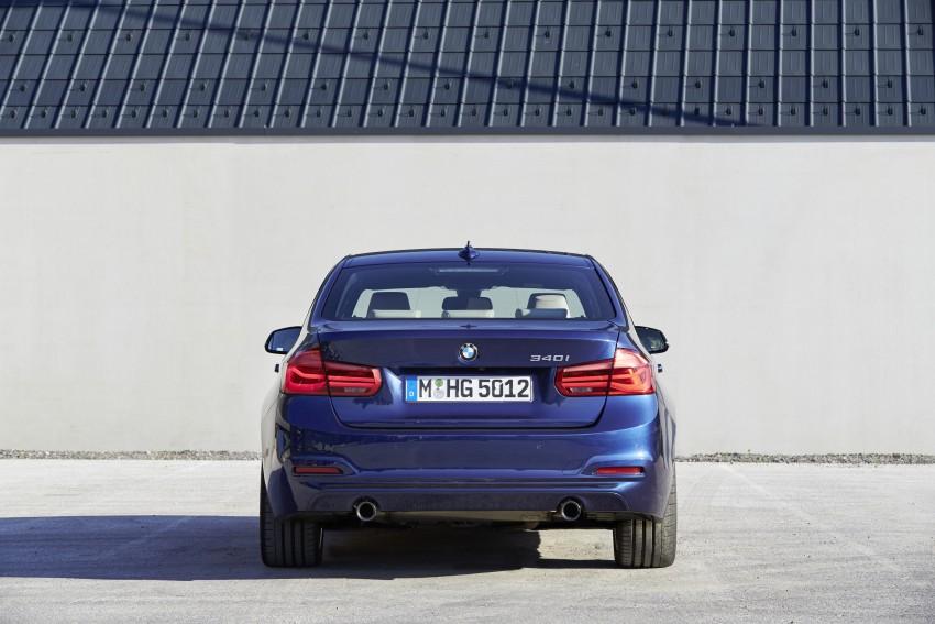 GALLERY: BMW F30 LCI 340i in Mediterranean Blue Image #360124