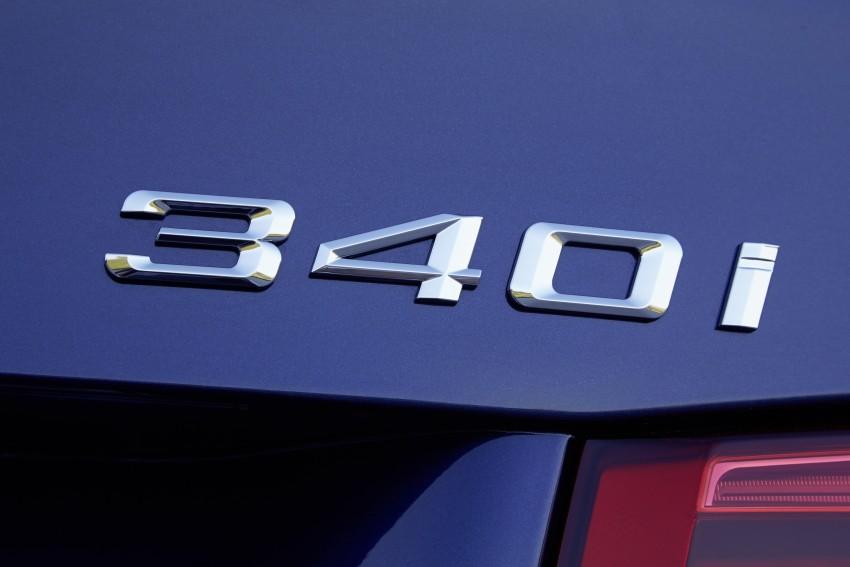 GALLERY: BMW F30 LCI 340i in Mediterranean Blue Image #360089