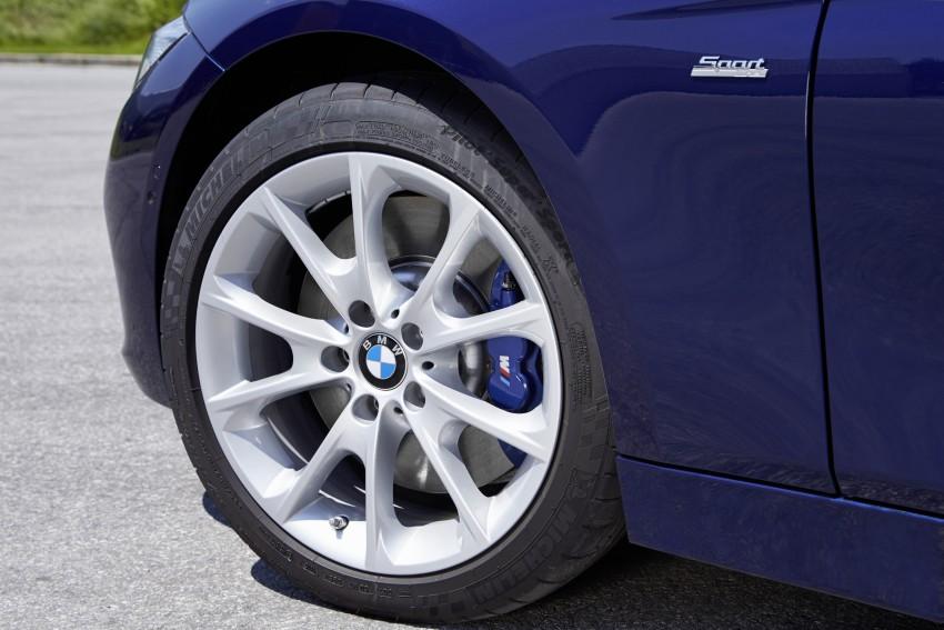 GALLERY: BMW F30 LCI 340i in Mediterranean Blue Image #360100