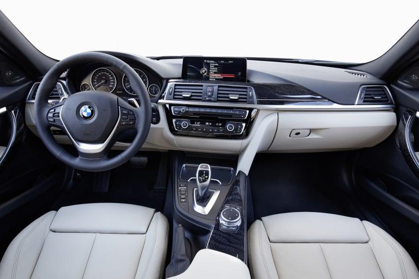 GALLERY: BMW F30 LCI 340i in Mediterranean Blue Image #360088
